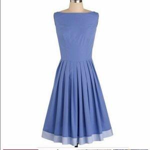 ModCloth XXL Periwinkle Prance Dress